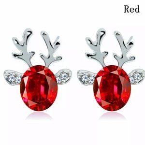 Rudolph the Red Reindeer Earrings